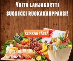 Voita 4700 euroa suosikki ruokakauppaasi