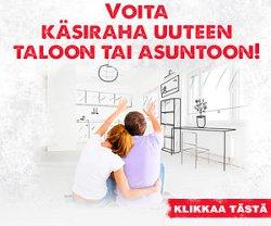 Voita käsiraha uuteen taloon tai asuntoon