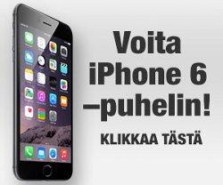 Voita uusi iPhone 6 puhelin