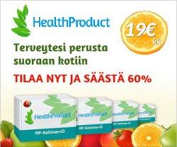 Tilaa D-vitamiini ja voita 3000 € matkalahjakortti