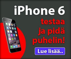 Voita iPhone 6 tai iPhone 6 Plus