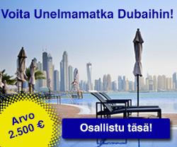 Voita unelmaloma Dubaihin