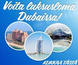 Voita luksusloma Dubaissa