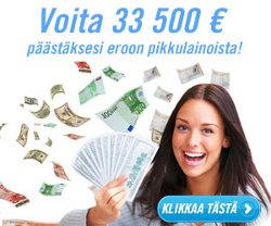 Voita 33.500 euroa velkojesi maksuun