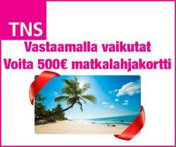 Voita Finnmatkojen 500€ lahjakortti