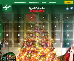 Mr Greenin Joulukalenteri - Voita 20 kpl iPhone 6 ym
