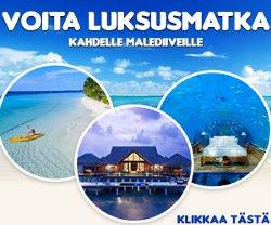 Voita luksusmatka kahdelle Malediiveille