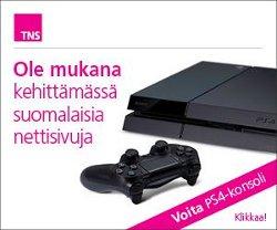 Voita PlayStation 4 pelikonsolin