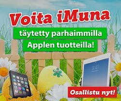 Voita iMuna täytettynä Applen tuotteilla