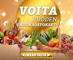 Voita vuoden ruokaostokset (arvo 6700 euroa)