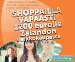 Voita 1200 € shoppailurahaa Zalandoon