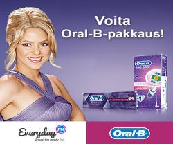 Voita Oral-B PRO 600 White & Clean -sähköhammasharjan
