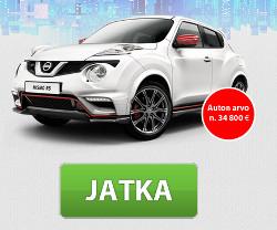 Voita Nissan JUKE NISMO RS -henkilöauto