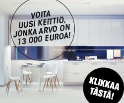 Voita unelmiesi keittiö 13.000 eurolla