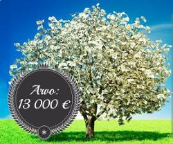 Voita 13000 € käteistä