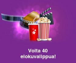 Voita 40 elokuvalippua!